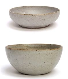 Rustic Ceramic Bowls from Nom Living.