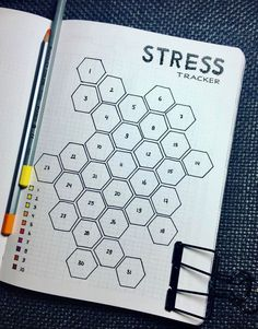 An alternative for a mood tracker if you are feeling stressed or anxious