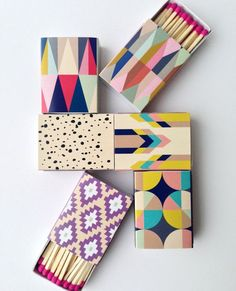 Decorative Matches (Set of 6) // NEW @ Lulu & Georgia //