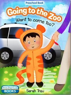 A cute and funny preschool picture book about a child's visit to the zoo and his thoughts about the animals he sees there.