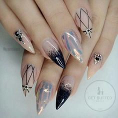 #nails #nailart #acrylics #acrylicnails #nailpolish - If anyone could spare to donate to my college expenses, I would be grateful https://www.gofundme.com/faithscollegefund