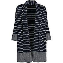 Buy Seasalt Greta Cardigan, West Towan Silver Online at johnlewis.com