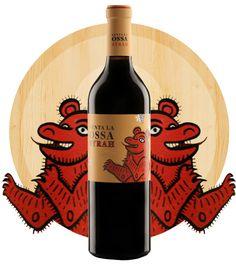 Vino Venta de la Ossa. I think it's a bear : ) PD