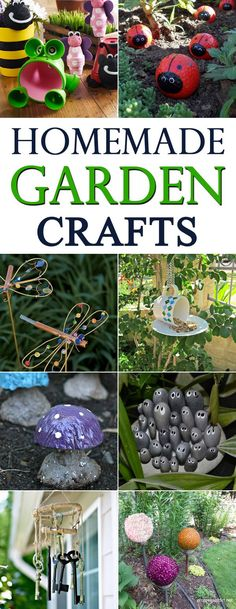 These DIY garden crafts are the perfect projects to display ...