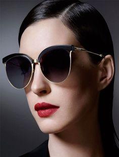 Anne Hathaway Bolon Sunglasses 2016 campaign .