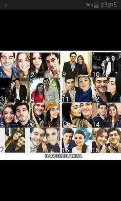 Cute Love Stories, Love Story, Romantic Couples, Cute Couples, Murat And Hayat Pics, Hande Ercel, Turkish Beauty, Beautiful Love, Turkish Actors