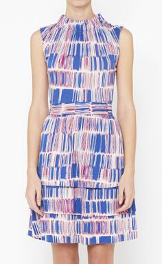 Marc by Marc Jacobs Pink, Blue And Multicolor Dress | VAUNTE