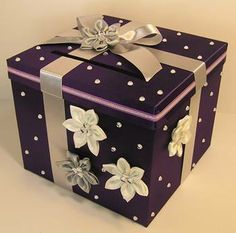 Cofre para regalo de sobre