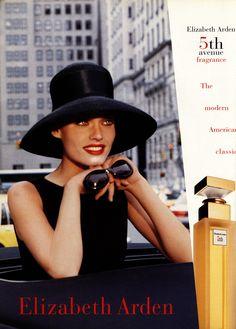 Campaign: Elizabeth Arden Season: 1997 Model(s):... | FashoGraphy Scans