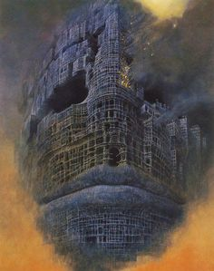 Visions Of Hell By Murdered Polish Painter Zdzislaw Beksinski ~ Damn Cool Pictures