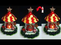DIY: Christmas Showpiece/lantern made from waste Plastic Bottle  DIY Christmas lantern craft ideas - YouTube Christmas Lanterns Diy, Christmas Crafts, Christmas Decorations, Christmas Ornaments, Holiday Decor, Lantern Craft, How To Make Lanterns, Dyi Crafts, Plastic Bottles