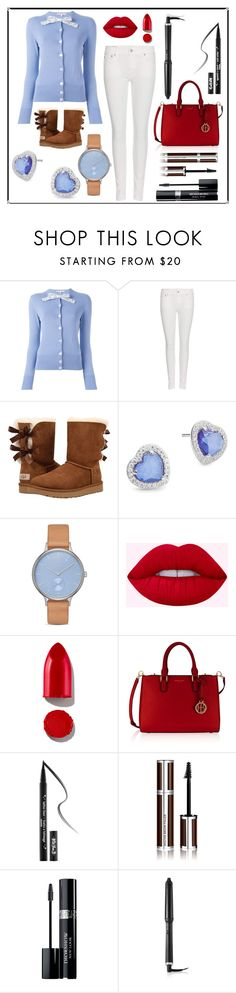"""""""Staying At Home Winter Outfit"""" by i-love-tennis ❤ liked on Polyvore featuring Olympia Le-Tan, Polo Ralph Lauren, UGG, Nadri, Skagen, Rodin, Henri Bendel, Kat Von D, Givenchy and Christian Dior"""
