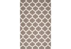 Casablanca Dhurrie Rug - Fog from Z Gallerie Formal living-room rug White Rug, White Area Rug, Casablanca, Beige, Dhurrie Rugs, Quatrefoil, Accent Rugs, Looks Cool, Groomsmen