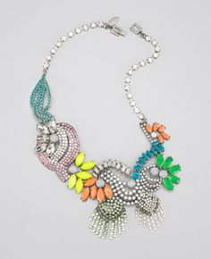 Electric Garden Necklace from Ann Taylor
