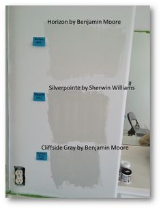 Engineering Life and Style: Picking Paint Colors for the Master Bathroom