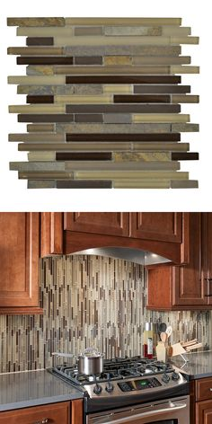 This beautiful mosaic tile has a tan color with a random variation in tone to coordinate with many interior decors. Easily installs in your kitchen or bath.