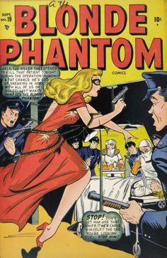 Blonde Phantom 019 September YYYY