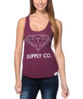 Diamond Supply Co. Girls White Space Charcoal Racerback Tank Top at Zumiez : PDP Urban Fashion Women, Diamond Supply Co, White Space, Racerback Tank Top, Athletic Tank Tops, Charcoal, Street Wear, Girls, Clothing
