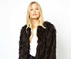 Want: An Awesomely Shaggy Faux Fur Coat fromASOS | StyleCaster