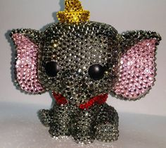 Swarowski Crystal Funko Pop Vinyl Custom Dumbo by WhimsicalGeekery