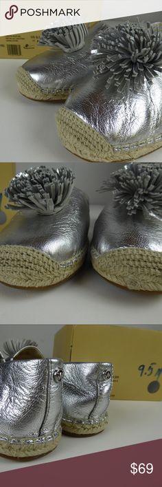 a0f8cea0471 Michael Kors Lolita Slip On Metallic Pom Pom Shoes Michael Kors Lolita Slip  On 👓Pom