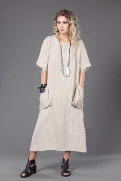 Платье в натуральной роме