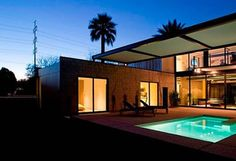 Modern house design in Arizona from chen suchart