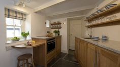 Kitchen at The Birdcage, Port Isaac