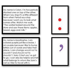 Punctuation Stories