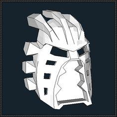 Bionicle - Avohkii Mask Free Papercraft Download - http://www.papercraftsquare.com/bionicle-avohkii-mask-free-papercraft-download.html