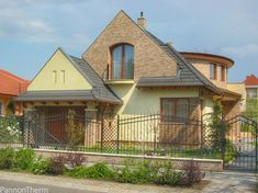 Suburban Family House in Hungary, Debrecen Hungary, Nova, Cabin, House Styles, Home Decor, Decoration Home, Room Decor, Cabins, Cottage
