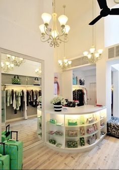 fashion boutiques interior design in Hong Kong - Amandarling