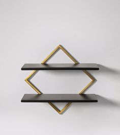 Orein Industrial Style Shelving in Brass & Chicory. Celebrate artisan making at Swoon, hand-crafted designs without the inflated price tag. Industrial Shelving, Industrial Style, Timber Shelves, Metal Finishes, Design Crafts, Floating Shelves, Art Pieces, Bronze, Brass