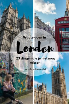 Wat te doen in Londen? 23 bezienswaardigheden die je niet mag missen! Bezienswaardigheden Londen | Londen tips | Tips Londen | citytrip Londen | Stedentrip Londen | Londen Engeland | doen in Londen Bucket List Destinations, Travel Destinations, Travel Tips, Time In England, London Christmas, Things To Do In London, Westminster Abbey, Short Trip, London Calling