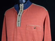 THE TERRITORY AHEAD 100% Cotton Men's Pull Over Long Sleeve Shirt Size Large #Mensfashion #Style #Blackfriday http://r.ebay.com/Q27TJH