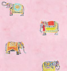 Elephants (pink) Caitline mcgauley