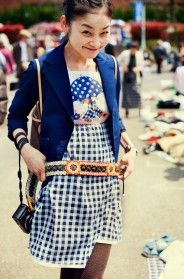 At the Flea Market with Rei, Tokyo p.1 « The Sartorialist
