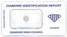 Foto 1, Diamant 1,02ct Brillant Lupenrein HRD-Gutachten Diamond, D5799