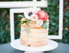 Waffle Cake Bridal Brunch  Southern Soiree Savannah GA www.kandidanielstudios.com  featured on Inspired by This