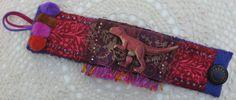 Brown Dinosaur Bracelet