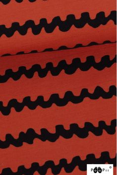 PaaPii Jersey print Hassle roest GOTS biokatoen rekbaar Prints, Tricot