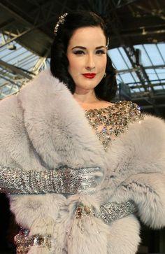 The glamorous Dita Von Teese