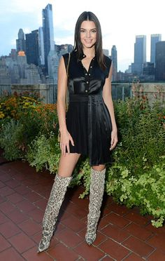 Kendall Jenner wearing a Fausto Puglisi Asymmetric Dress with Pleated Skirt http://www.anrdoezrs.net/click-3800583-11179249-1406101004000?url=http%3A%2F%2Fwww.stylebop.com%2Fproduct_details.php%3Fid%3D596638%26cpkey%3DLBel70l6T_aZcDkZKXXzISxfH2PkDONT4o3ND8H4vcY&cjsku=221383, an Yves Saint Laurent bag and Tom Ford shoes. #kendalljenner #style #celebstyle