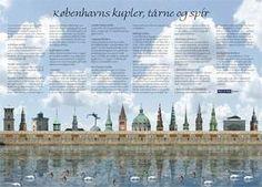 Artposters: copenhagen Towers by MIKAEL HAUBERG