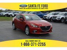 2015 Soul Red Metallic Mazda Mazda3 s Touring 38235P Mazda Mazda3, Mazda 3, Fes, Santa Fe, Touring, Metallic