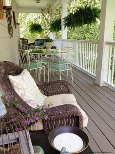 side-porch-mexican-heather-on-table