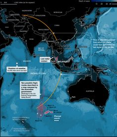 Where Could Malaysian Flight 370 Be? - Bloomberg