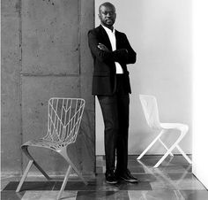 David Adjaye OBE is recognized as a leading architect of his generation. Adjaye was born in Tanzania to Ghanaian parents and his influences range from contemporary art, music and science to African art forms and the civic life of cities. In 1994 he set up his first office, where his ingenious use of materials and his sculptural ability established him as an architect with an artist's sensibility and vision.