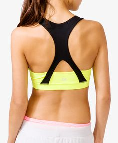 Neon Crisscross Sports Bra |