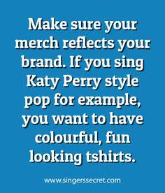 Branding and marketing ideas for musicians. Get free singing training: www.singerssecret.com/free #singing #singingtips